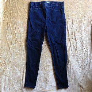 Madewell High-Rise Skinny Denim Jeans Size 32
